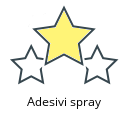 Adesivi spray
