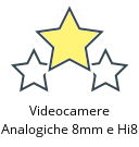 Videocamere Analogiche 8mm e Hi8