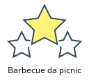 Barbecue da picnic