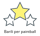Barili per paintball