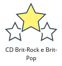 CD Brit-Rock e Brit-Pop