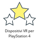 Dispositivi VR per PlayStation 4