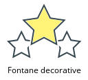 Fontane decorative