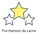 Forchettoni da carne