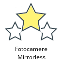 Fotocamere Mirrorless