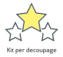 Kit per decoupage