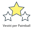 Vestiti per Paintball