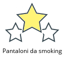 Pantaloni da smoking