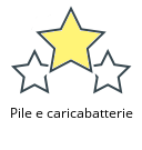 Pile e caricabatterie