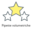 Pipette volumetriche