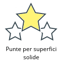 Punte per superfici solide