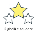 Righelli e squadre