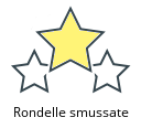 Rondelle smussate