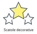 Scatole decorative