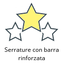 Serrature con barra rinforzata