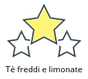 Tè freddi e limonate
